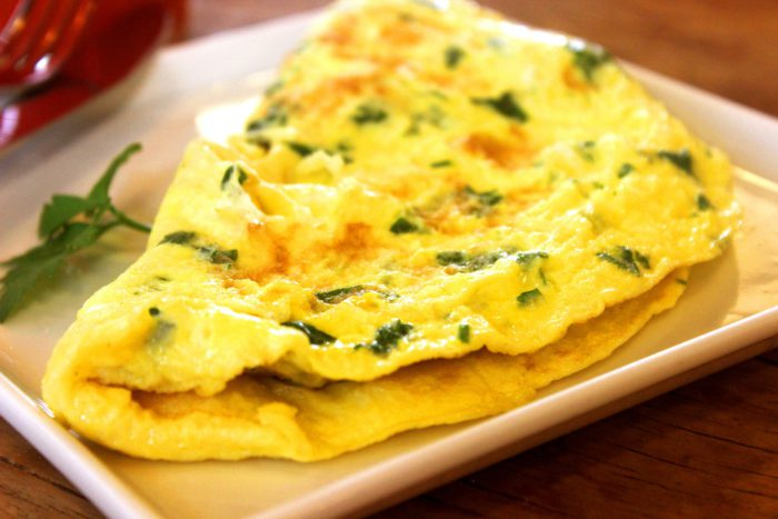 "<span itemprop=""name"">Spinach & Cheese Omelet</span>"