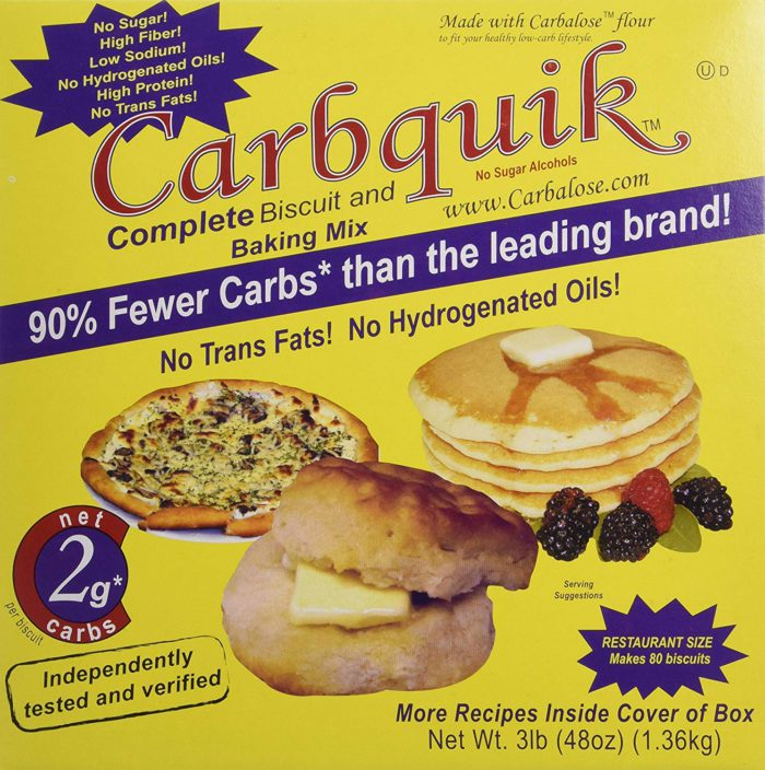 Carbquick Biscuit and Baking Mix Review