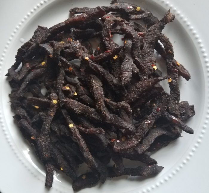 Spicy Lamb or Beef Jerky
